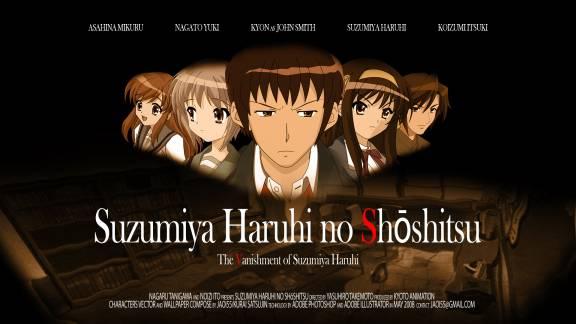 The Melancholy Of Haruhi Suzumiya Kyon And Haruhi Kiss