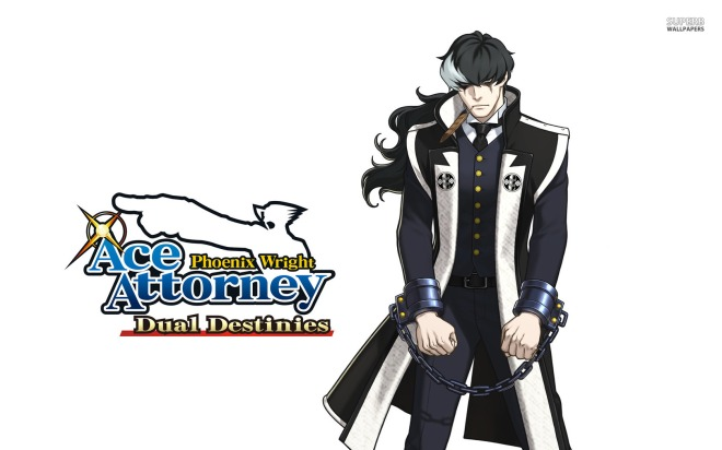 Prosecutor Blackquill in all his monochrome glory.