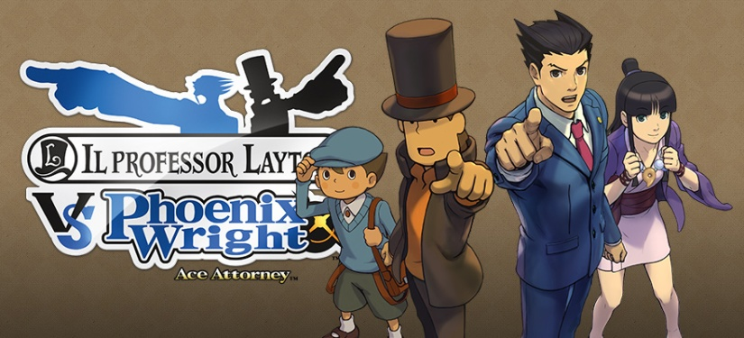 When Worlds Collide: Professor Layton vs. Phoenix Wright