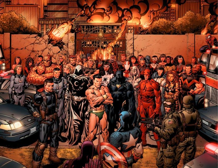 MARVEL STORY ARCS: AvengersDisassembled
